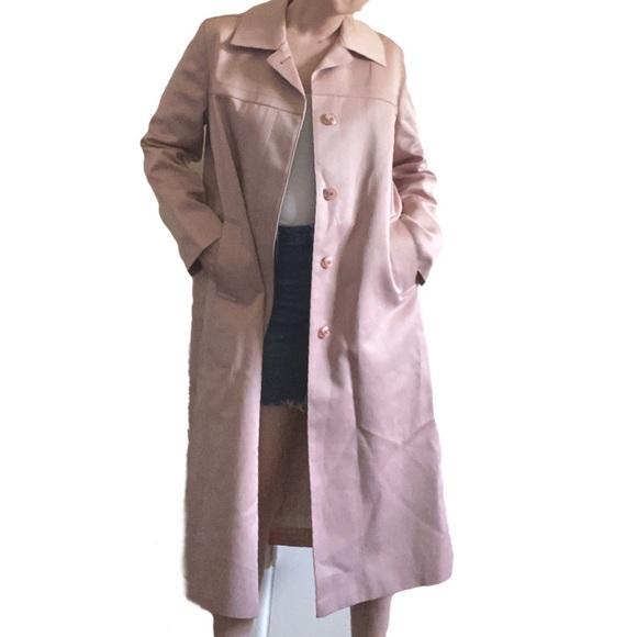 Vintage Jackets & Blazers - VTG London Fog | Pink Trench Coat